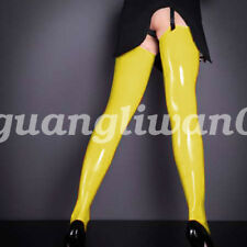Cool New Design Red Sexy 0.4mm Stocking Suit 100% Latex Rubber Gummi Size S-XXL