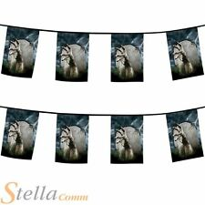 8m Halloween Horror Gravestone Zombie Hand Bunting Party Decoration Pennant Flag
