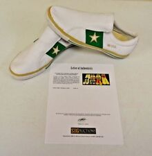 Converse One Star White Slipon Green sz 12 DWAYNE WADE Personal Owned Shoes COA