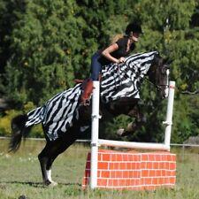 Bucas Buzz-off Riding Zebra - Fliegen-/ausreitdecke 155