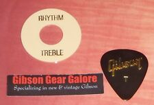 Gibson Les Paul Washer Creme Gold Relic Switch Ring Toggle Guitar Parts Custom T