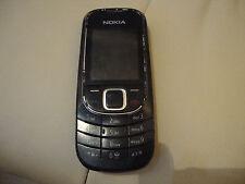 Nokia 2323 Classic-Nero (Arancione bloccato) telefono cellulare