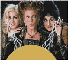 Halloween Hocus Pocus Cross-Stitch Pattern -BUY 3, GET 3 FREE ON ALL PATTERNS!