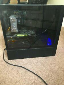 Used Custom Gaming PC: GeForce GTX 980ti, Intel Core i5-6600K, 16gb RAM, WIFI