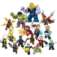 Avengers End Game mini figurines Marvel super héros Hulk Iron Man Thor 16 PCS