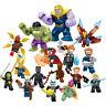 Avengers End Game mini figurines Marvel super héros Hulk Iron Man Thor 16 PCS