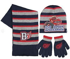Blaze And Monster Machines , 3 Piece Winter Hat, Gloves And Scarfs