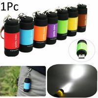 portable mini poche 0.5w lampe del lampe torche l'usb rechargeable porte - clés