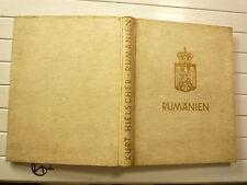 RUMANIEN DE KURT HIESLCHER CHEZ BROCKHAUS LANDSCHAFT BAUTEN VOLKSLEBEN 1938