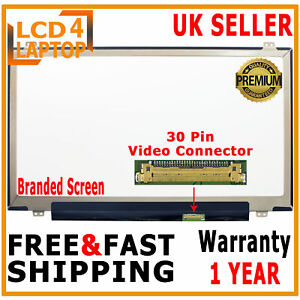 "LG LP140WF6 SPB6 SP B6 LAPTOP SCREEN COMPATIBLE 14"" LED LCD FHD IPS 1920X1080 UK"