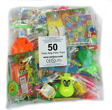 50 Children's Party Bag Fillers Favours Boys Girls Pinata Prizes 1ST CLASS POST