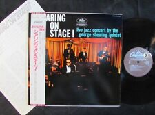 THE GEORGE SHEARING QUINTET On Stage! JAPAN AUDIOPHILE LP ECJ-50096/OBI (NM)