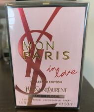Mon Paris In Love by Yves Saint Laurent YSL 1.6 oz Perfume Women Collector Edit.