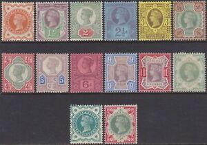 GB QV 1887 Jubilee Set, Mint MH.