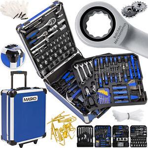 Masko® 1005tlg Werkzeugkoffer Werkzeugkasten Werkzeugkiste Werkzeug Trolley