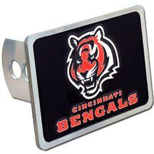 Cincinnati Bengals Rectangle Logo Trailer Hitch Cover ~ New
