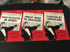 Complete Set Chroma-Tick #4 Special 3 Part Variant Cover Set!