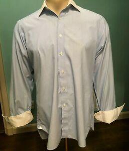 """Genuine Turnbull & Asser Shirt - 15.5"""" Collar - Reg Med"""