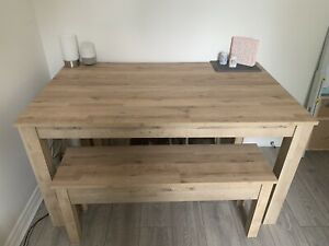 NEXT Home Dining Table & Bench Set