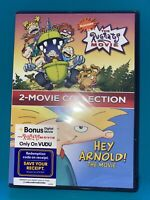 RUGRATS MOVIE, THE + HEY ARNOLD! THE MOVIE (2-MOVIE COLLECTION) (DVD) (NEW)