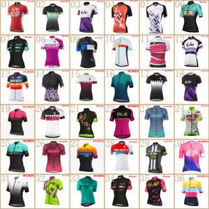 2021 Women cycling jersey bicycle short sleeve shirt summer Racing Bike Clothing
