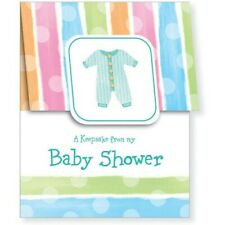 Baby Shower Keepsake Registry Baby Clothes Baby Shower Supplies Decorations