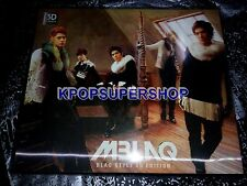 MBLAQ Vol. 1 BLAQ Style 3D Edition CD DVD Good Cond M Blaq Ultra-RARE OOP GLass