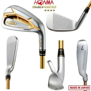 Japan Honma 4star Beres Golf clubs S07 Iron set 5-11 AS 9pcs Graphite Shaft R SR