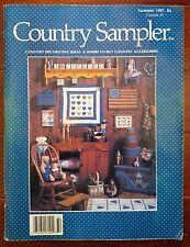 Country Sampler Magazine Summer 1987