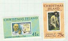 1990 Christmas Island, Henry Ridley Set 2, SG 308/9 MUH