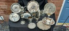 An Antique Silver Plated Job Lot With Many Makers Names.1800.s_1900.s.