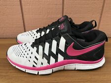NIKE FREE TRAINER 5.0 TB GYM BLACK WHITE PURPLE SIZE MEN'S US 14 579811-016 C5