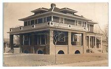 1929 RPPC Vermilion, SD Home Real Photo Postcard *6E(3)14