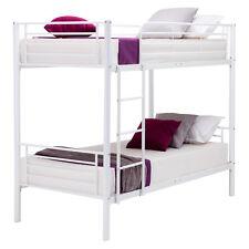Metal Twin over Twin Bunk Beds Frame Ladder Bedroom Room for Kids Adult Children