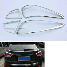 ABS Car Rear Tail Light Lamp Cover Frame Trim For Hyundai Tucson IX35 2011-2012
