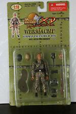 NIB 21st Century Toys Ultimate Soldier 1/18 scale WWII German Infantryman