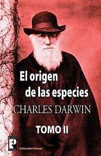El Origen de Las Especies (Tomo 2) by Charles Darwin (2012, Paperback)