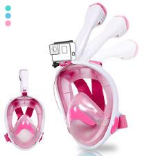 Schnorchelmaske ECO Kinder Tauchermaske Schnorchel mit Trockenschnorchel Maske