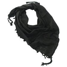 Shemagh Halstuch 110x110cm schwarz Uni