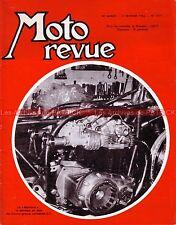 MOTO REVUE 1775 Münch 1000 Mammut MONDIAL NORTON 650 SS CHAMOIS 1966