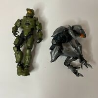 Lot of 2 - Microsoft Halo Action Figures Loose - No Weapons- One 2016