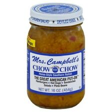 Mrs. Campbell's Sweet Chow Chow Home Style Southern Relish