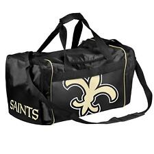 New Orleans Saints Duffle Bag Gym Swimming Carry On Travel Luggage Tote NEW