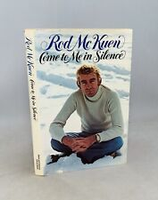 Come to Me in Silence-Rod McKuen-SIGNED-INSCRIBED!-DATED!-TRUE First/1st Edition