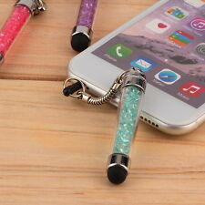 1pc Mini Crystal Diamond Bling Touch Screen Stylus Pen For iPhone CN