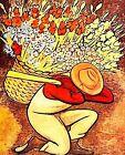 Print - El Vendedora De Flores by Diego Rivera