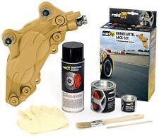 raid hp BREMSSATTELLACK GOLD METAL. BREMSEN LACK BREMSLACK BREMSSATTEL 6-TEILIG