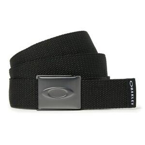 NEW Oakley Ellipse Web Belt - Blackout - Adjustable - Drummond Golf