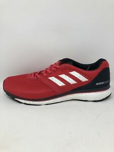 Adidas Mens Adizero Adios 4 Sneakers Red Size 10.5 Running Shoes B37308 NWT