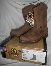 "Chippewa 10"" Mens Pull-On Boot Size 8 D, Brand New"